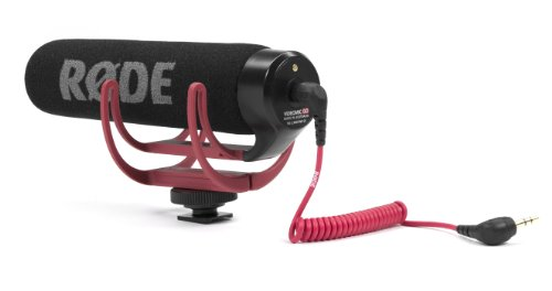Rode VMGO Video Mic GO Lightweight On-Camera Microphone Super-Cardio (Directional Microphone For Iphone)