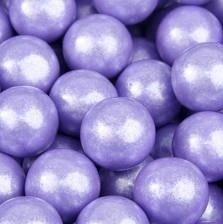 Lavender Shimmer - GumBalls Pearl Lavender 2.5 Pounds 141 pieces