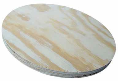American Wood Round Plywood For Round Table Tops 17-3/4