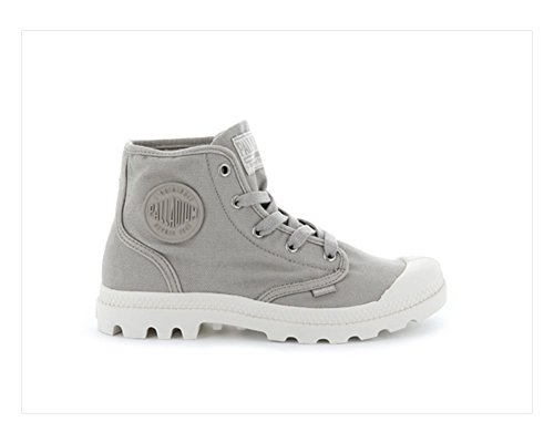 Ecru Pampa String Boot Palladium Canvas Hi Women's qFwYxz1C