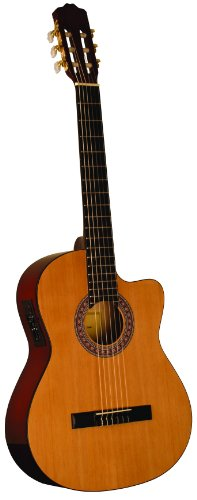 INDIANA IC-25CE Acoustic-Electric Guitar - Natural