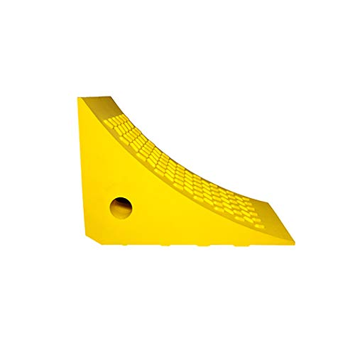 Esco 12592 Safety Yellow Pro Series Wheel Chock, Commercial Trucks and Tractors by Esco (Image #1)