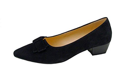 Donna scarpa décolleté schwarz nero, (schwarz) 55.132.17