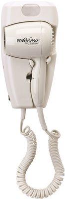 Pro Versa Jwm8cd Hard-Wired Wall Mount Hair Dryer, 1600-Watts, White