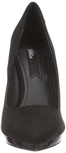tacón 01 material de BremixL Schwarz sintético mujer black zapatos negro Blink de cerrados tgZan6Zqw