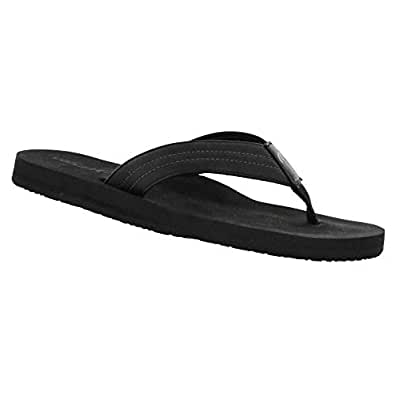 Cobian Men's The Costa Flip-Flop, Black, 8 M US