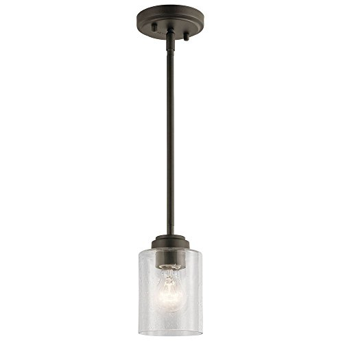 Winslow 1 Light Pendant (Kichler Lighting 44032OZ One Light Mini Pendant from the Winslow Collection)
