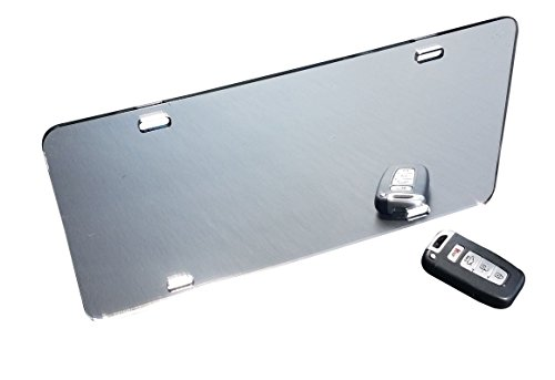 Acrylic License Plate Blanks - Silver Mirrored - 6
