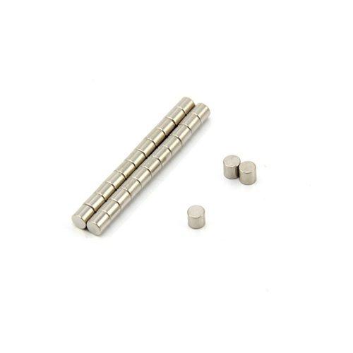 Magnet Expert® 3mm diamètre x 3mm N42 néodyme aimant, 0,29kg force d'adhérence, pack de 25 29kg force d'adhérence Magnet Expert® F413-25