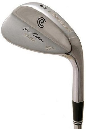 Cleveland 588 Chrome Wedge (Men's Left-Handed, 53 Degree Loft, Traction Steel Shaft)