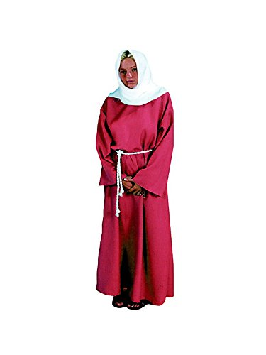 Alexanders Costumes Women's Biblical Peasant Lady, Burgundy, One