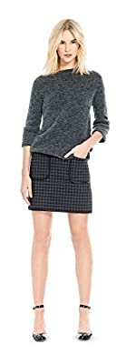 Plaid DOUBLEKNIT A-LINE Skirt