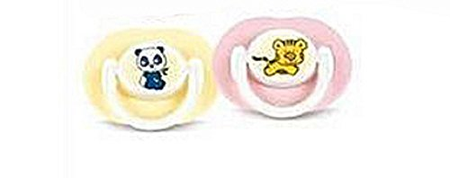 Silicone Infant Fashion Pacifier - 3-6 Months