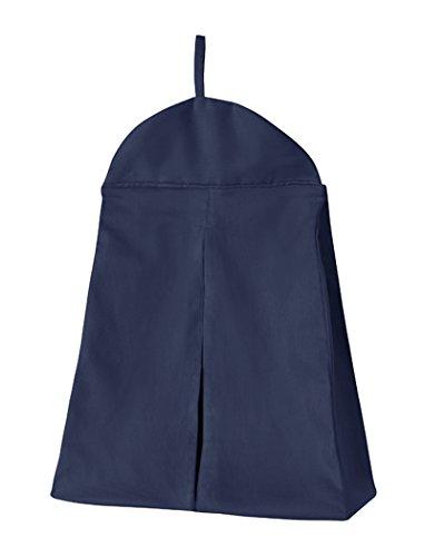 - Sweet Jojo Designs Navy Blue Girl or Boy Gender Neutral Diaper Stacker Storage Organizer