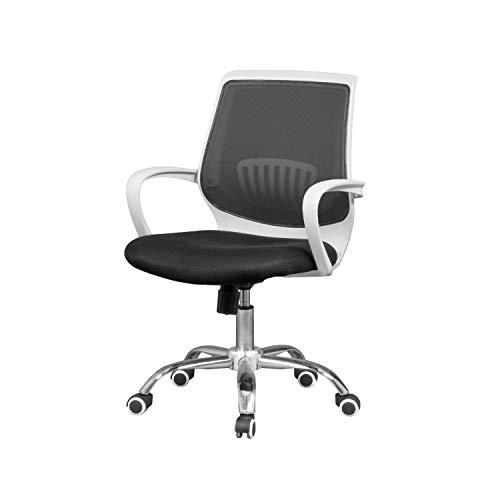 duehome Silla de Oficina ergonomica, Silla para Escritorio o Estudio, Medidas: 59,5x87,5x59 cm Trend