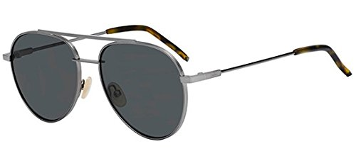 Sunglasses Fendi 222 /S 0KJ1 Dark Ruthenium / M9 gray polarized - Fendi Polarized Sunglasses