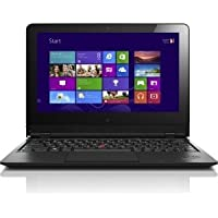 Lenovo ThinkPad Helix 20CG000MUS Ultrabook/Tablet - 11.6 - In-plane Switching (IPS) Technology, VibrantView - Wireless LAN - Intel Core M 5Y10 800 MHz - Graphite Black - 4 GB RAM - 256 GB SSD - Windows 8.1 Pro 64-bit - Convertible - 1920 x 1080 Multi-touch Screen Display (LED Backlight) - Bluetooth - 20CG000MUS