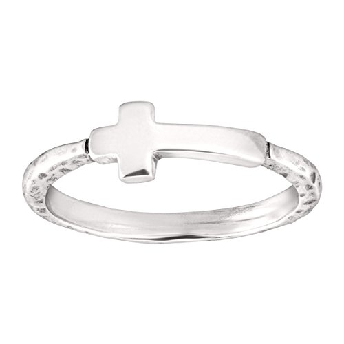 Silpada 'Simplex Cross' Sterling Silver Ring, Size 6 (Sterling Cross Ring Silver)