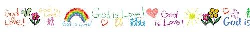 Carson Dellosa Christian God is Love Borders (1437)