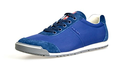 Prada-Mens-4E2834-OQT-F0021-Leather-Sneaker