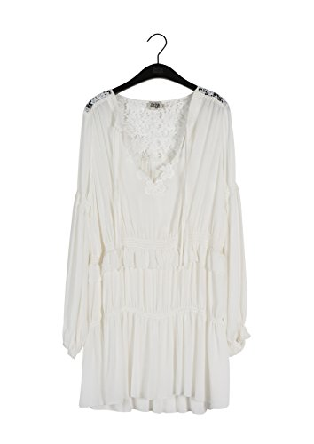 Twist & Tango Sage Dress, Vestido para Mujer blanco crema