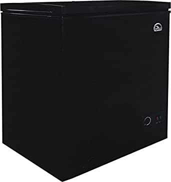 igloo 5 1 cubic foot chest freezer with dry. Black Bedroom Furniture Sets. Home Design Ideas