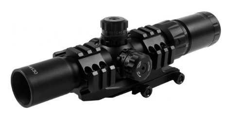 AIM Sports JTHR1 Locking Turrets 3/4 Circle Tri-Illumination