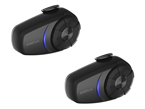SENA 10S-01D Bluetooth 4.1 Communication DUAL System for Mot