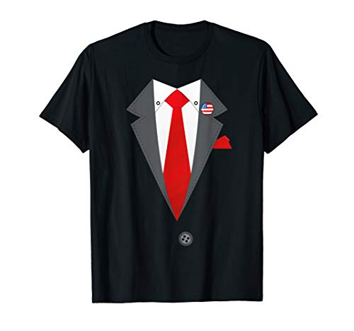 Bernie Sanders Suit And Tie Costume Election Funny Halloween T-Shirt