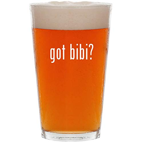 - got bibi? - 16oz Pint Beer Glass