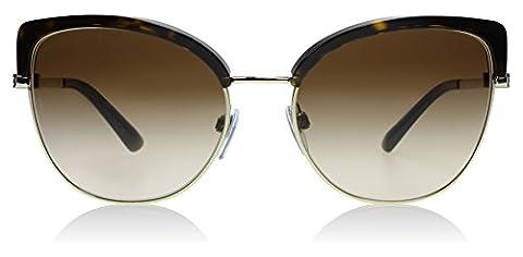 Bvlgari 6082 278-13 Tortoise / Gold 6082 Cats Eyes Sunglasses Lens Category 3 S