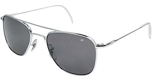Gray Pilot Sunglasses - 6