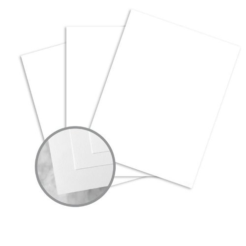 (ENVIRONMENT Ultra Bright White Card Stock - 8 1/2 x 11 in 80 lb Cover Smooth 80% Recycled 250 per Package)