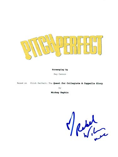 Rebel Wilson Signed Autographed PITCH PERFECT Movie Script COA