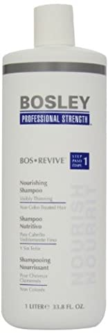 Bosley Bos Revive Nourishing Shampoo&Conditioner for Visibly Thinning Non Color-Treated Hair, 33.8 (Bosley Hair Conditioner)