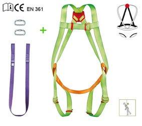PATACHO EPI-302/2 - Arnes dorsal+cinta+2 mosq.+bol: Amazon.es ...