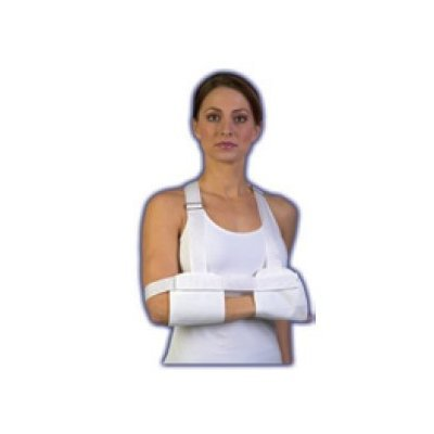Hemi Sling Arm (Med Spec Universal Hemi-sling for hemi-Paresis/Paralysis, White)