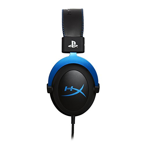 HyperX Cloud Gaming Headset - Playstation 4 - Officially Licensed Sony Interactive Entertainment LLC PS4 Systems - Black/Blue (HX-HSCLS-BL/AM) by HyperX (Image #4)
