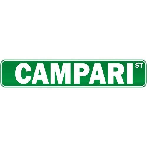 Ca565urs Campari Street - Cartel de Aluminio: Amazon.es: Hogar