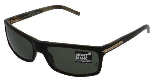 Mont Blanc Sunglasses Unisex Havana Mb175 737 Wayfarer