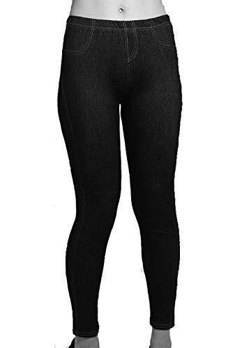 Donna Tinta Style Nero Unita Jeans With Riddled q0XwZAX