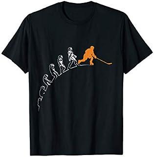 Best Gift Evolution of Hockey Funny Hockey Ice Hockey Hockey Player  Need Funny TShirt