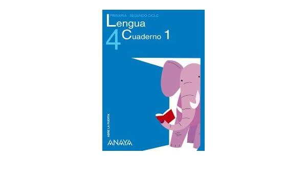 Lengua 4. Cuaderno 1.: María Isabel Fuentes Zaragoza: 9788466766401: Amazon.com: Books
