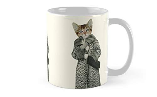 Kitten Dressed as Cat Mug(One Size)