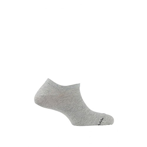 invisibili grigio cotone in Achile Calzini Yqw4Y15