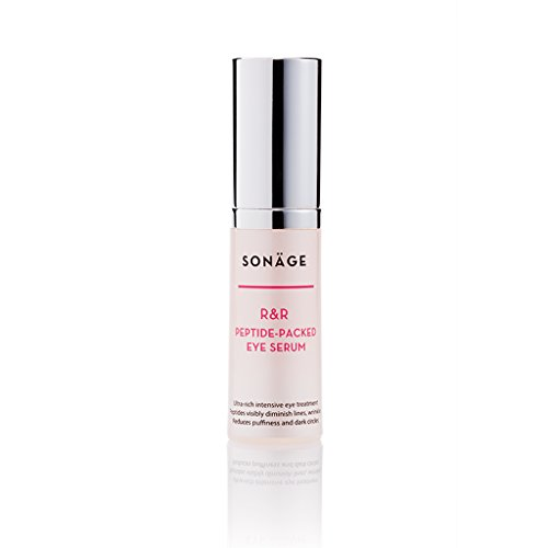 Intensive Peptide Serum (Sonage RR Peptide Packed Eye Serum - Intensive Treatment for Dark Circles, Puffiness and Bags - Enriched with Argireline, A Natural Muscle Relaxant To Diminish the Appearance of Wrinkles)
