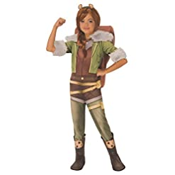 Rubie's Costume Squirrel Girl Marvel Rising Secret Warriors Deluxe Child Costume