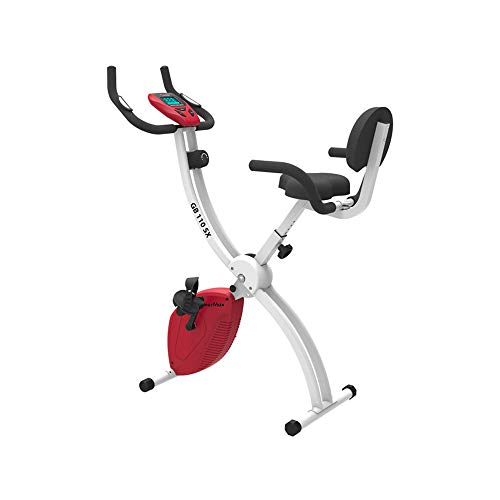 Powermax Fitness BX-110SX Fitness Exercise Cycle for Home/Magnetic X Bike for Weight Loss