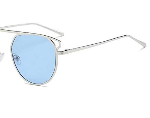 UV400 de conducción gafas gafas FlowerKui sol de Hombres Mujeres de libre Silver aire sol de al protección vqYPwZAPf