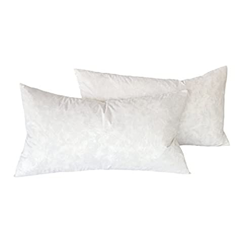 Cozy Bed Feather Pillow Insert 12x20(Set of2), 18